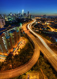 Maneira a Kuala Lumpur Imagens de Stock Royalty Free