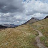 Maneira ocidental das montanhas Imagem de Stock