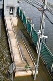 Maneira para povos com inabilidades na inundação Imagem de Stock Royalty Free