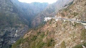 Maneira pedestre em montes de Trikuta Imagem de Stock Royalty Free