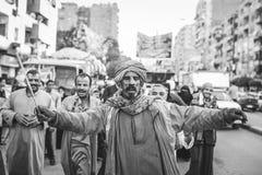 Maneira Rifai Sufi Egito das celebrações foto de stock royalty free