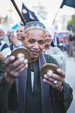 Maneira Rifai Sufi Egito das celebrações imagens de stock royalty free