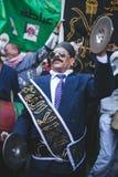 Maneira Rifai Sufi Egito das celebrações foto de stock