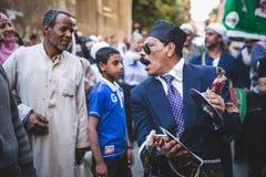 Maneira Rifai Sufi Egito das celebrações fotografia de stock