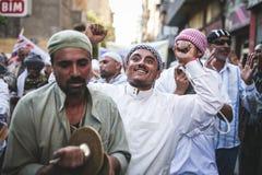 Maneira Rifai Sufi Egito das celebrações imagem de stock royalty free