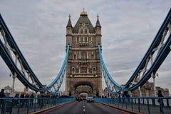 Maneira sobre a ponte da torre Imagens de Stock