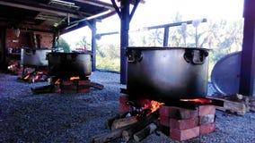 Maneira tradicional à água fervida Imagem de Stock Royalty Free