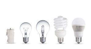 Maneiras diferentes de iluminação Imagem de Stock Royalty Free