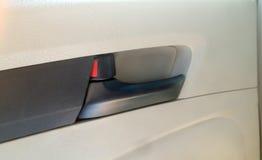 Maneje el sub-ensamble parcial, puerta dentro del coche, pieza de automóvil imagen de archivo