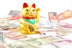 Maneki Neko fotos de stock royalty free