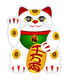 Maneki Neko Beckoning Cat Royalty Free Stock Photo
