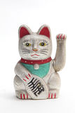 Maneki Neko. Japanese lucky cat Stock Photo