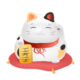 Maneki - neko vector illustration Stock Images
