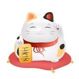 Maneki - neko vector illustration Stock Images