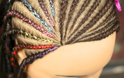manekin fryzurę Zdjęcia Stock