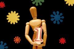 manekin urodzinowy. Zdjęcia Stock