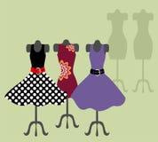 Manequim com vestido Fotografia de Stock Royalty Free