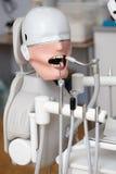 Manequim ou manequim para os estudantes do dentista que treinam em faculdades dentais Imagem de Stock Royalty Free