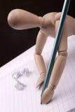 manequin pisarz. Zdjęcia Royalty Free