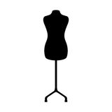 Manequin silhouette isolated icon Stock Photo