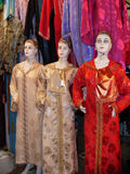 Manequins em vestidos longos Imagens de Stock