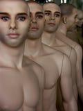 Manequins na linha Foto de Stock Royalty Free