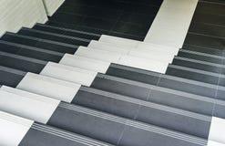 Manera abajo de la escalera en la ciudad Imagen de archivo