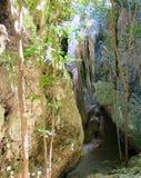 Manera abajo a la cueva de Phraya Nakhon Fotografía de archivo libre de regalías