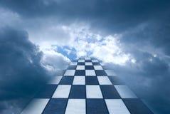 Manera al cielo Imagenes de archivo