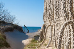 Manera al mar Báltico Foto de archivo libre de regalías