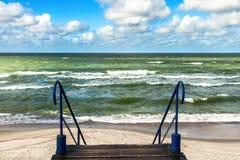 Manera al mar Báltico Fotos de archivo