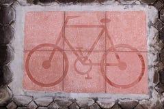 Manera de la bicicleta Foto de archivo libre de regalías