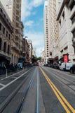 Manera de la calle en San Francisco foto de archivo