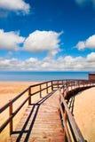 Manera de la playa fotografía de archivo libre de regalías