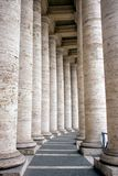 Manera de las columnas Fotografía de archivo libre de regalías