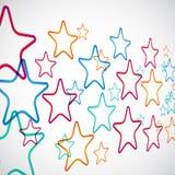 Manera de las estrellas Fotografía de archivo