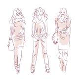 Manera de las mujeres Libre Illustration