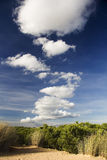 Manera de nubes Foto de archivo