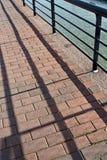 Manera de piedra de la caminata Fotografía de archivo