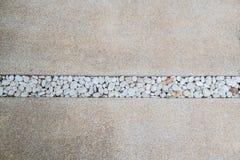 Manera de piedra del paseo del modelo Fotos de archivo libres de regalías