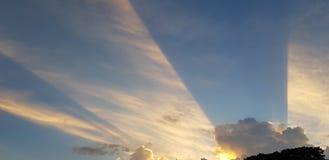 Manera de Sun fotografía de archivo