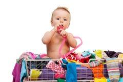 Manera del bebé Foto de archivo libre de regalías