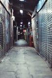 Manera del callejón en Japón imagen de archivo