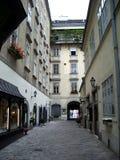 Manera del callejón - Viena Fotografía de archivo libre de regalías