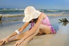Manera del verano de la playa Foto de archivo libre de regalías