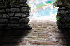 Manera en el cielo Foto de archivo libre de regalías