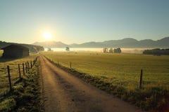 Manera en la mañana Imagen de archivo libre de regalías