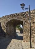 Manera en puerta medieval fotos de archivo