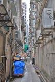 Manera estrecha del callejón en el impostor Shui Po Imagen de archivo