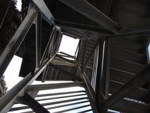 Manera fresca de la escalera Fotos de archivo libres de regalías